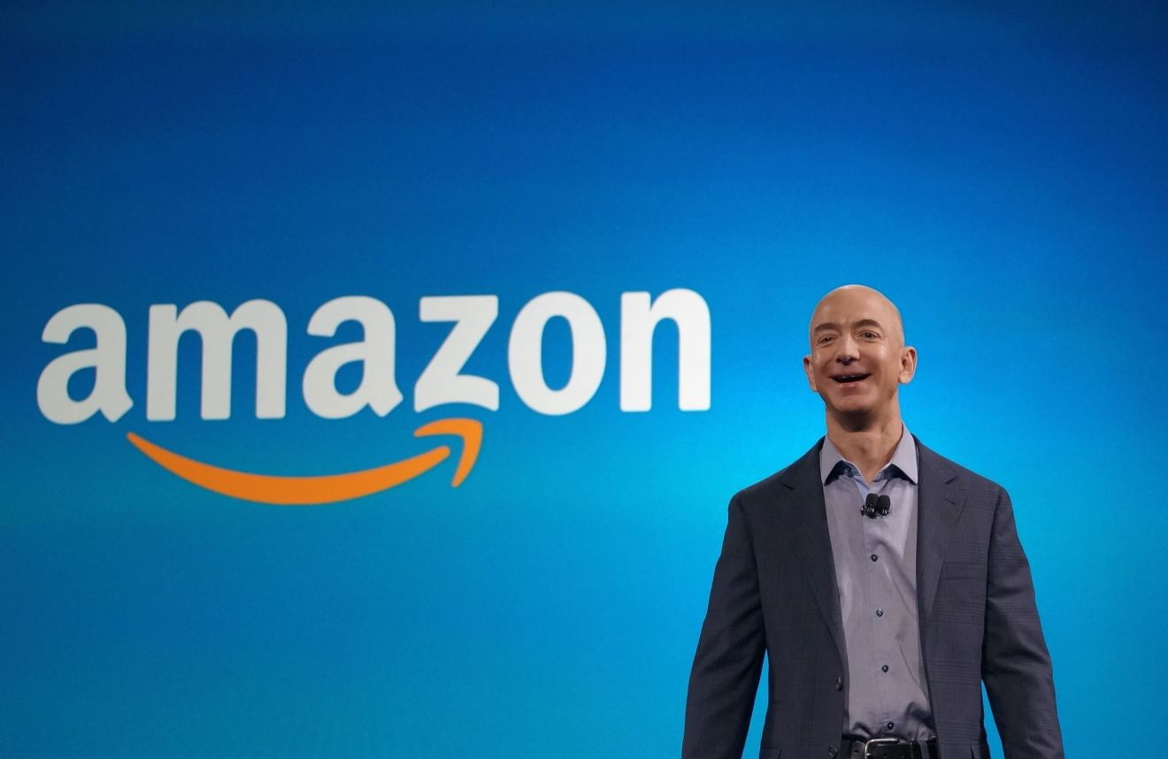 bezos2 - Amazon atinge US$ 1 trilhão em valor de mercado