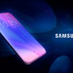 Slide com possível novo desiign do Galaxy S10
