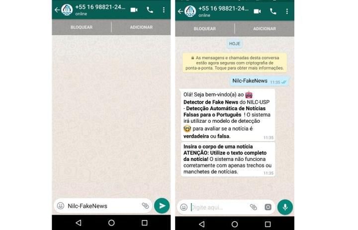 Bot para o WhatsApp surge como um contato