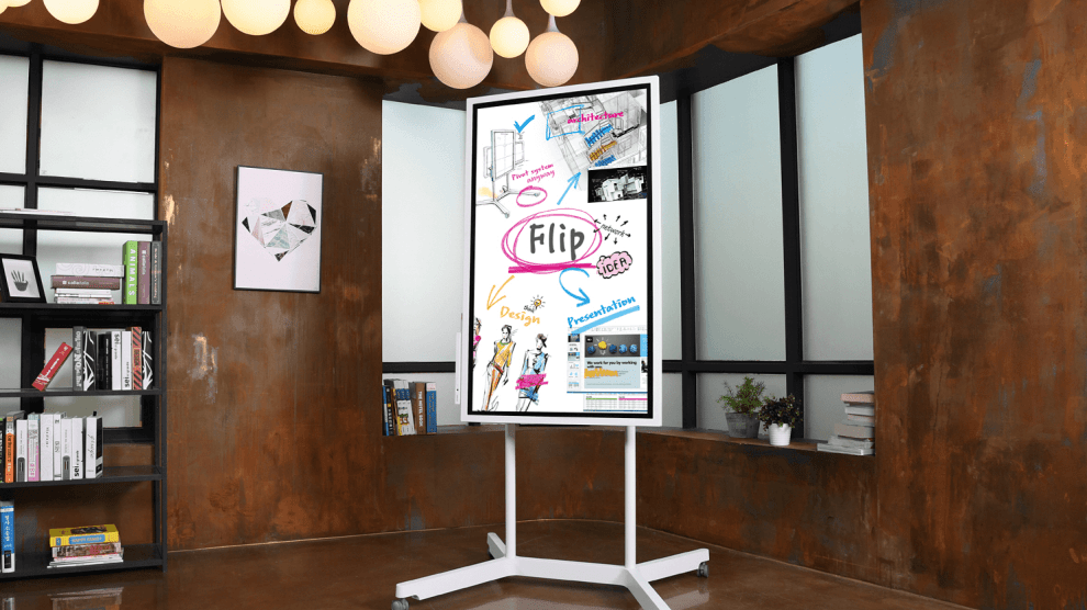 REVIEW: Samsung Flip é uma tela interativa para salas de reuniões 8