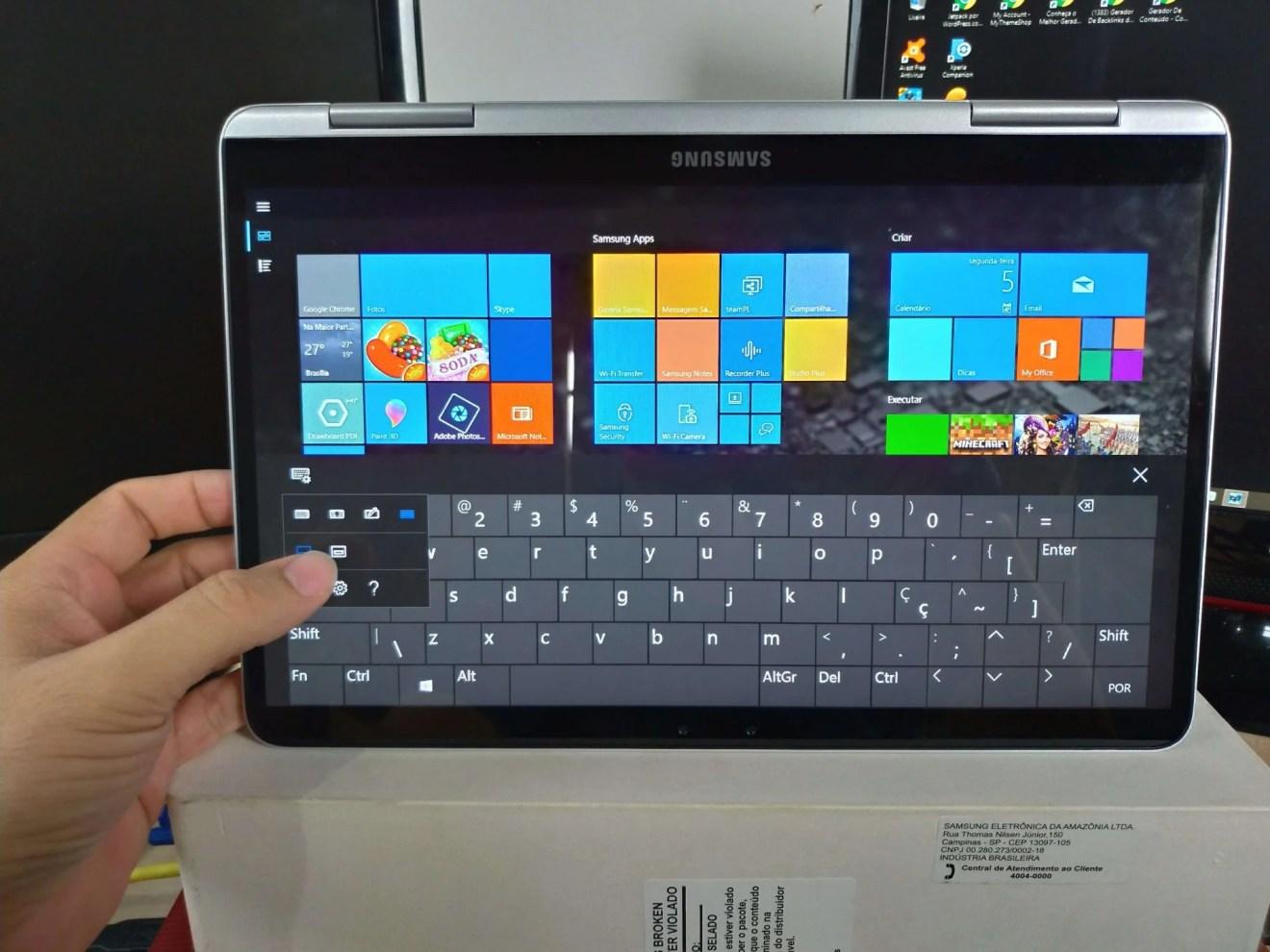 Review: Notebook Samsung Style S51 Pen, o 2 em 1 Premium da marca 8