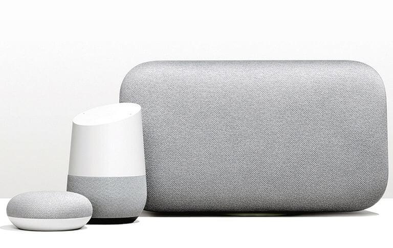Google Home, Google Home Mini, Google Home Max
