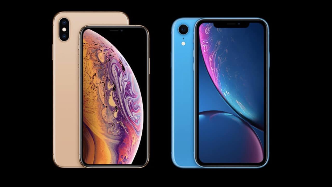 iPhone XS e iPhone XR