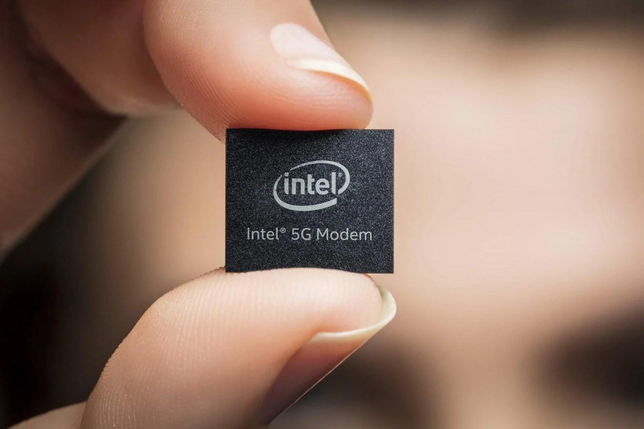 Chip 5G iPhone Intel