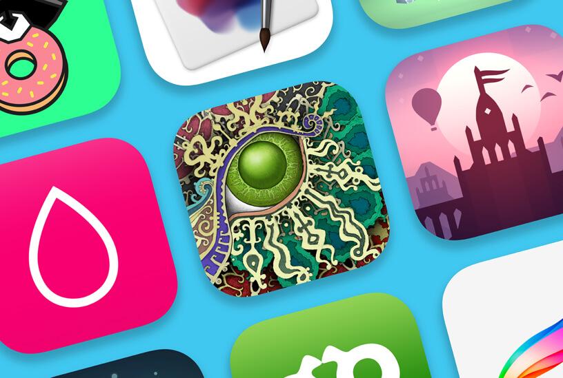 Foto que ilustra os melhores do ano na App Store, loja de Aplicativos da Apple