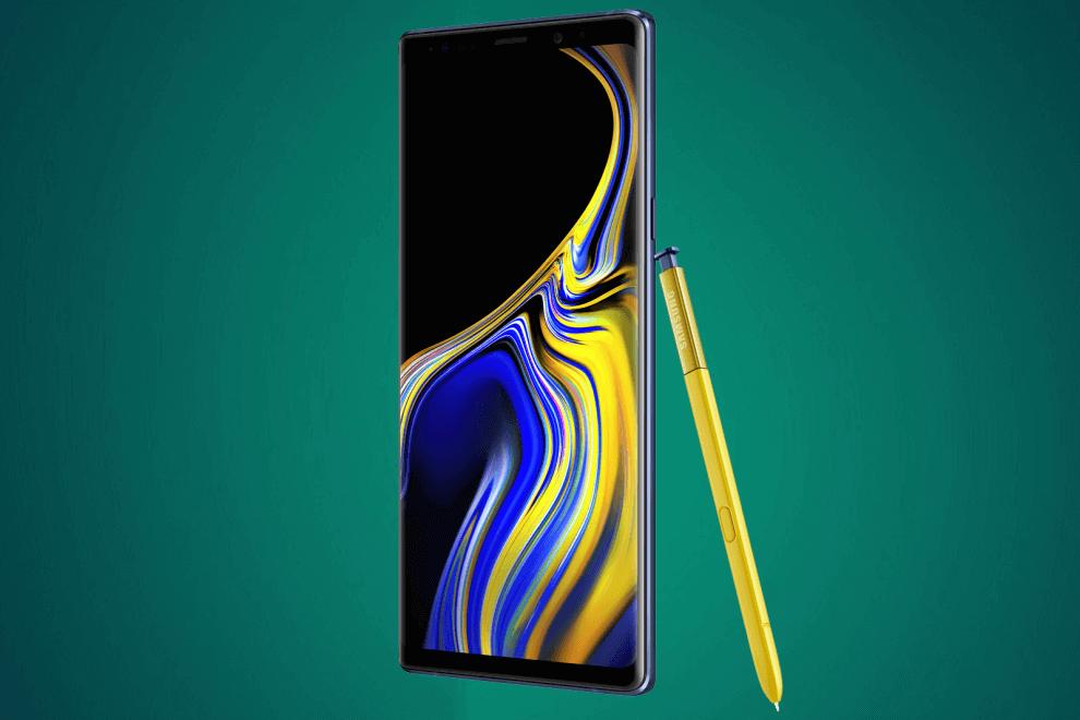 Galaxy Note 9, um dos melhores smartphones de 2018