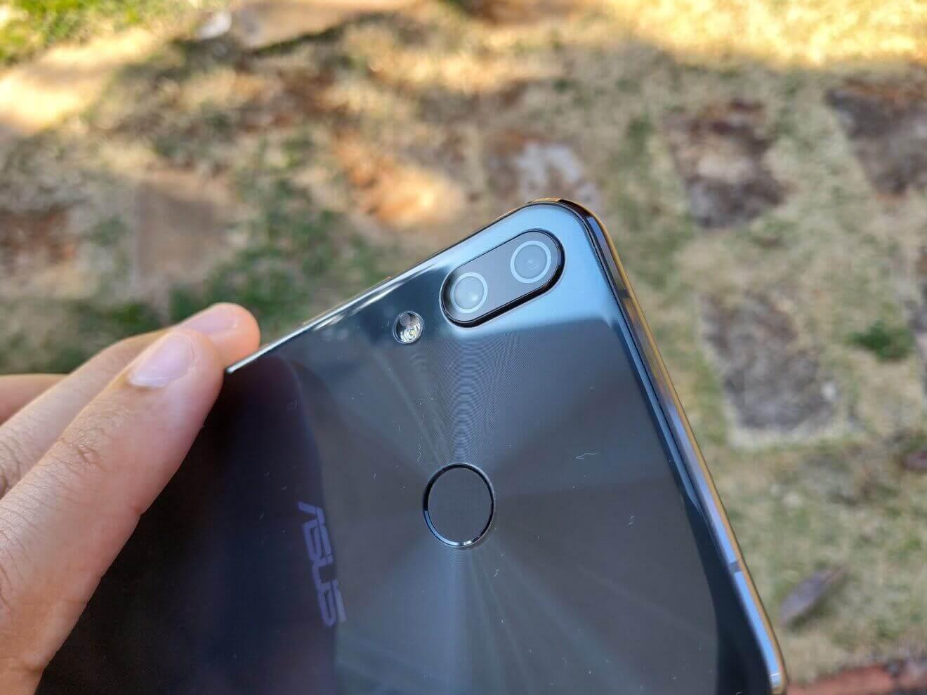 Câmeras do Zenfone 5Z, um dos melhores smartphones de 2018