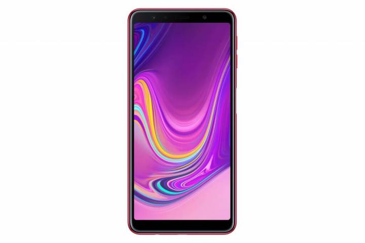 Samsung A7 tela