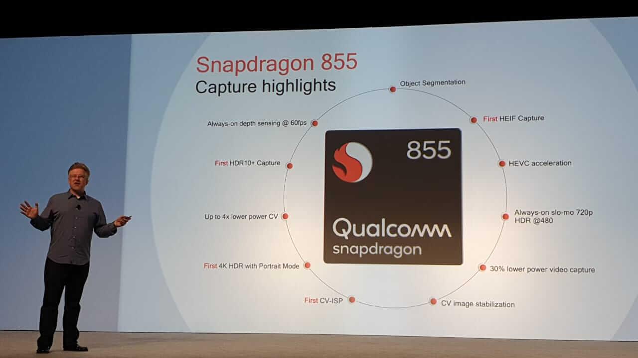 Funcionalidades do setor de fotografia do novo processador Snapdragon 855