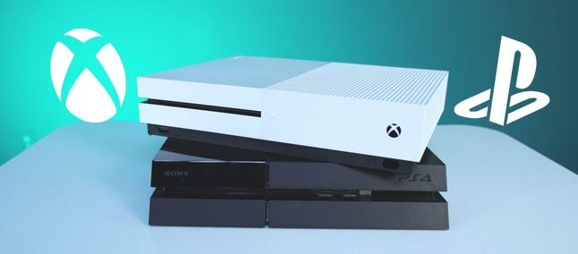 Xbox e PS4 juntos