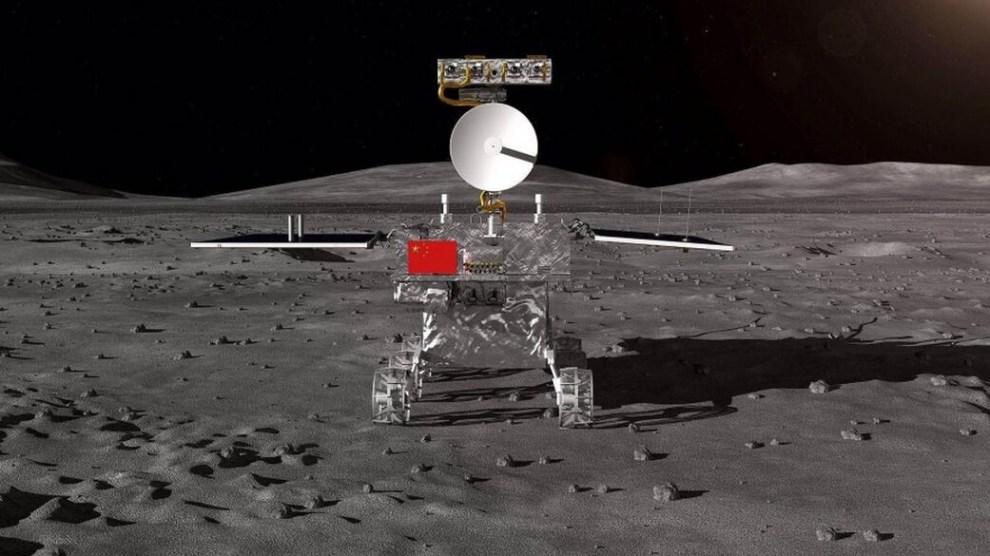 Sonda chinesa Chang'e 4 é a primeira a pousar no lado escuro da lua 4