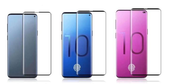 O Galaxy S10 deverá ser o primeiro da empresa a vir com sensor na tela, com exceção do modelo lite
