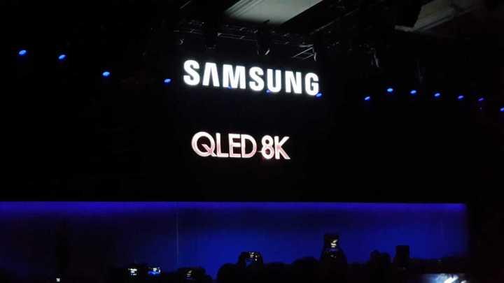 Anúncio das TVs QLED 8K