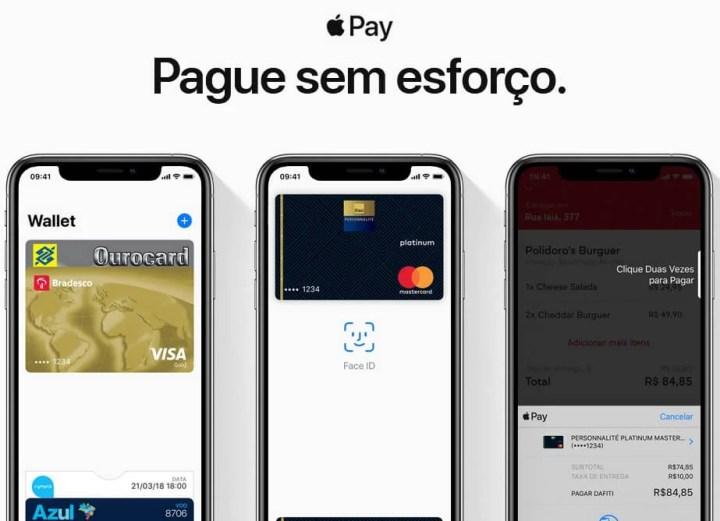 Com o Apple Pay você mantém os seus dados de cartão mais seguros