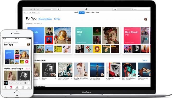 Apple Music está disponível para iOS, macOS, Android e Windows