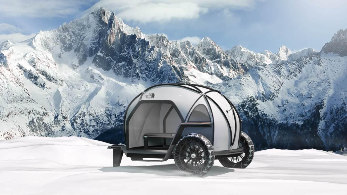 CES 2019: The North Face e BMW apresentam barraca de camping futurista 4