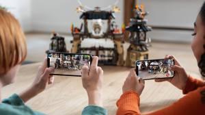 iOS 12 iPhone XS Lego AR