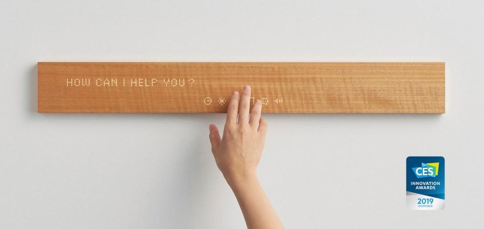 CES 2019: Mui é um bloco de madeira cheio de conectividade 4