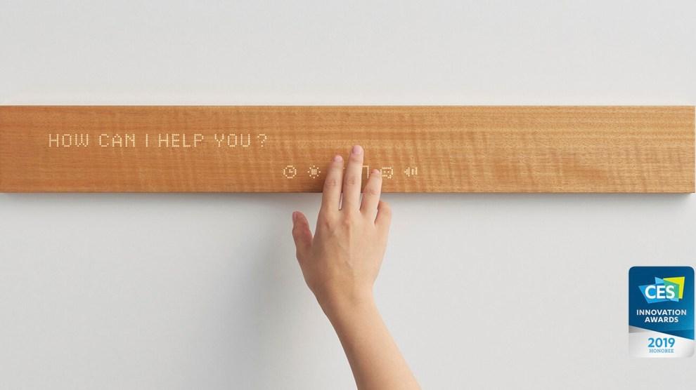 CES 2019: Mui é um bloco de madeira cheio de conectividade 6