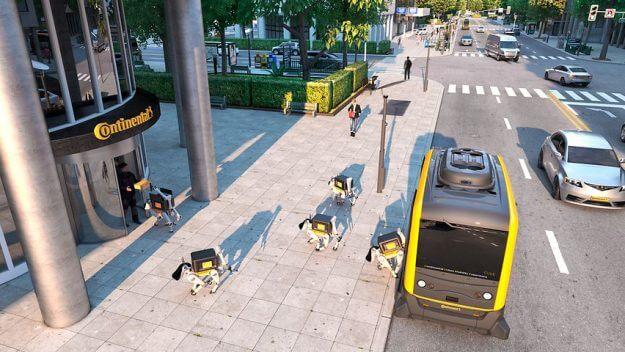 CES 2019: cachorros robóticos da Continental serão o futuro dos correios 4