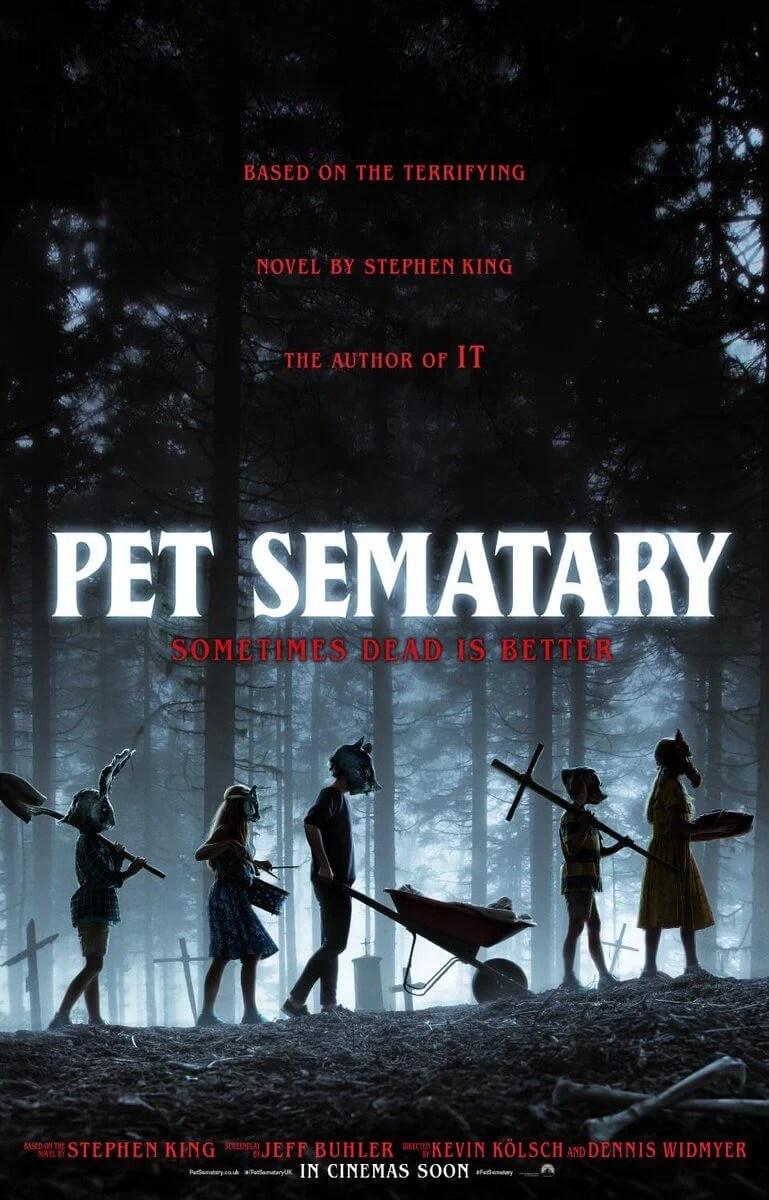 Novo pôster de Cemitério Maldito (Pet Sematary)