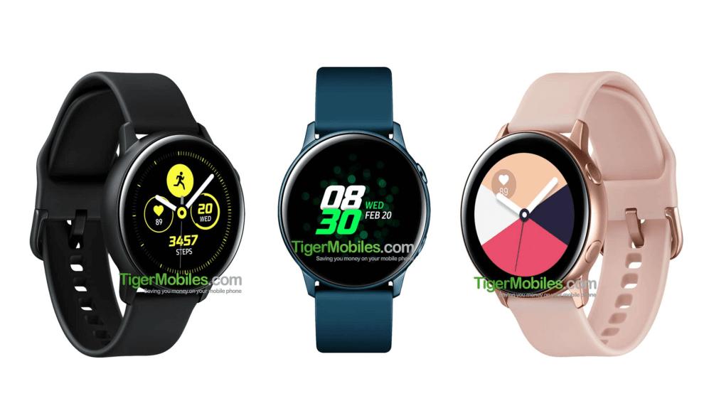 Galaxy Watch Acitve da Samsung tem especificações reveladas