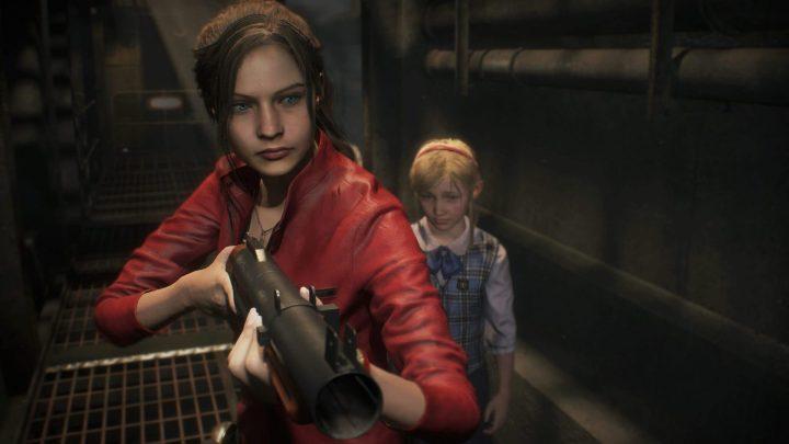 Girl Power: Claire está sempre preparada para proteger pessoas ao seu redor em Resident Evil 2.