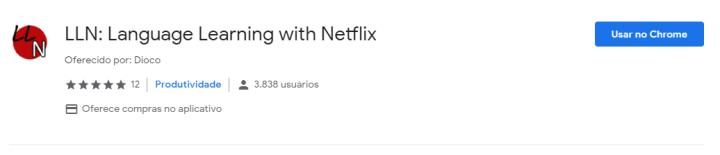 Estudar um novo idioma com a Netflix? É possível com extensão do Chrome 6