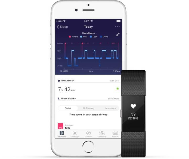 Fabricantes como Fitbit e Xiaomi oferecem recursos de monitoramento de sono há algum tempo.
