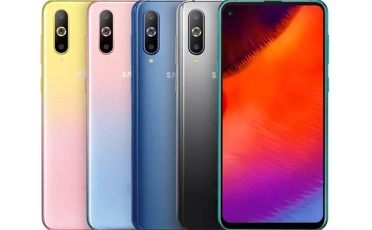 Galaxy A8s ganha novas cores