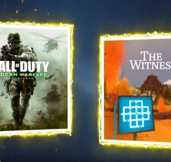 PS Plus de Março terá Call of Duty e The Witness 5