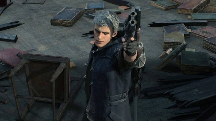 Nero e seu novo visual para o Devil May Cry 5