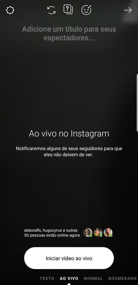 Instagram stories modos