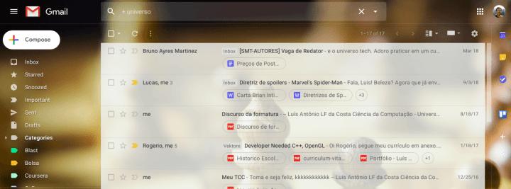 Gmail: dicas para encontrar e arquivar e-mails