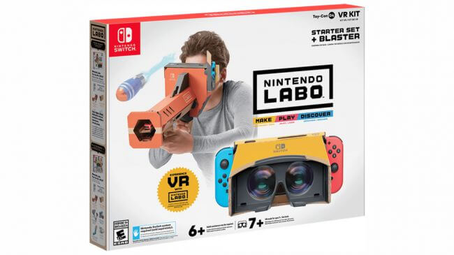 Nintendo Switch, Nintendo Labo