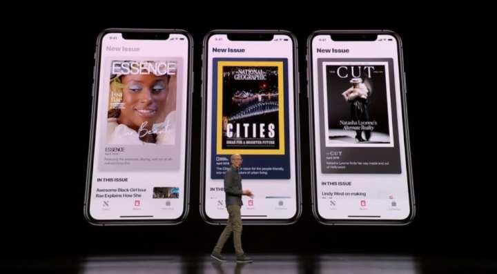 Revistas disponíveis no Apple News+