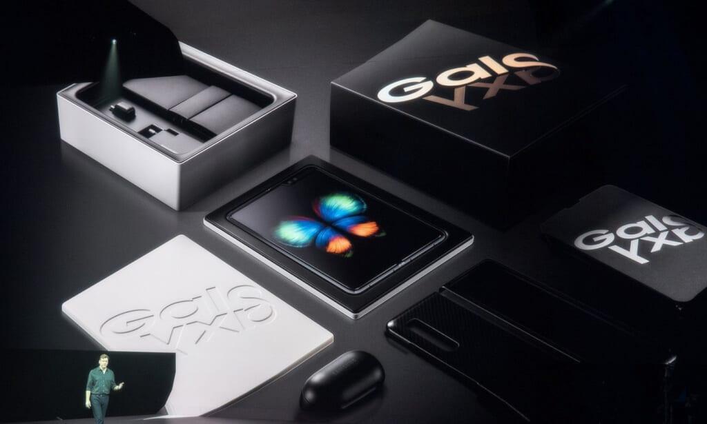 Galaxy Fold tem início de pré-venda divulgada; envios começam em maio 5