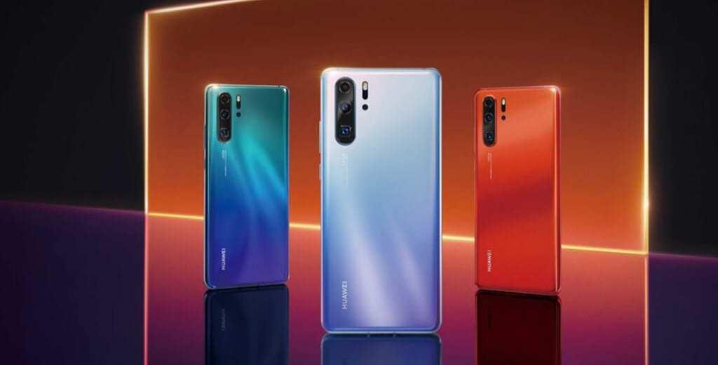 Huawei anuncia linha P30 com quatro câmeras traseiras e Kirin 980