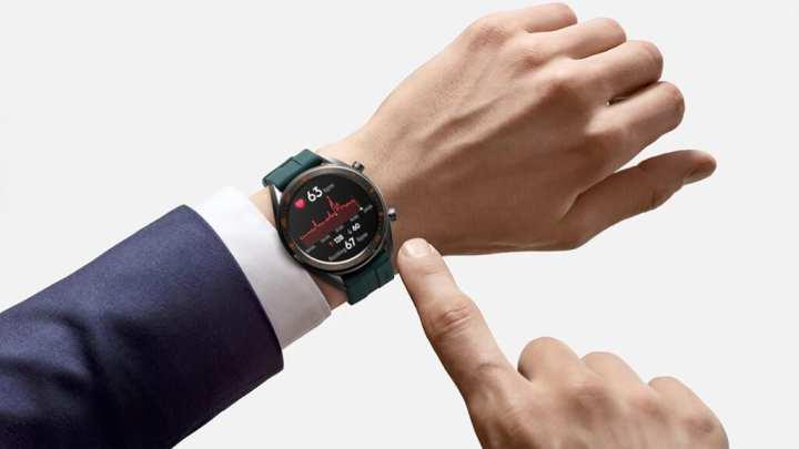 O relógio inteligente da Huawei conta com uma função de monitoramento cardíaco 24 horas por dia