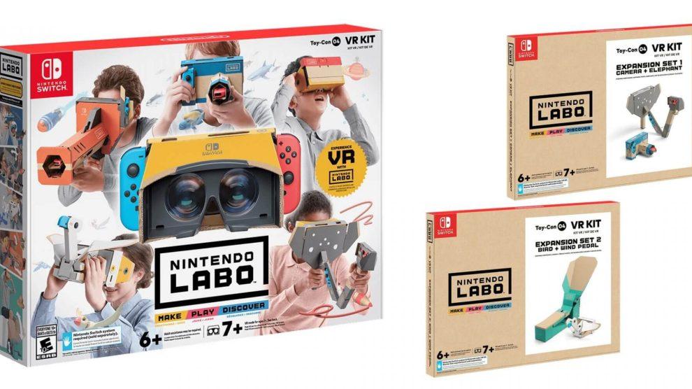 Nintendo Labo, Nintendo Switch