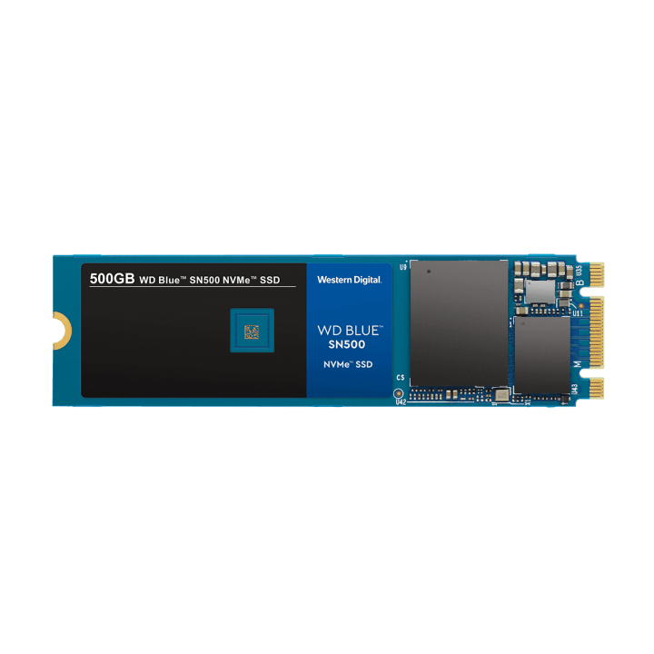 Novo SSD WD Blue de 500 GB