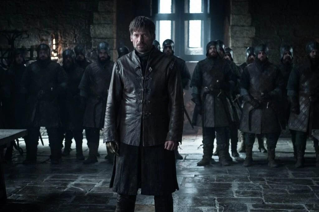 Jaime Lannister é julgado por Daenerys e pelos senhores do Norte no segundo episódio da 8ª temporada de Game of Thrones.