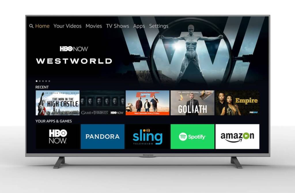 Sistema operacional da Amazon Fire TV