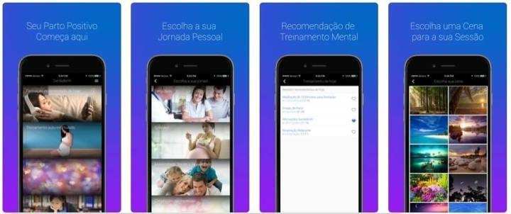 GentleBirth app para mães