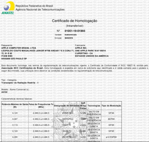 Sai a homologação da Anatel para os novos AirPods e Ipad Air 4