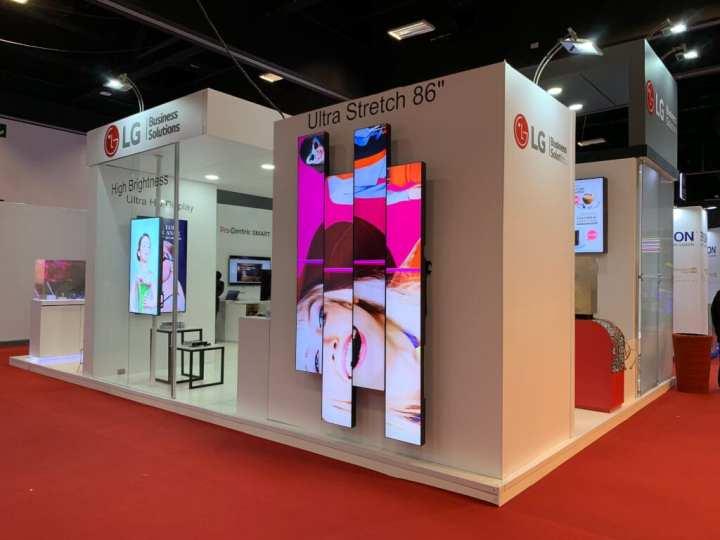 LG apresenta novos produtos em Digital Signage na Infocomm