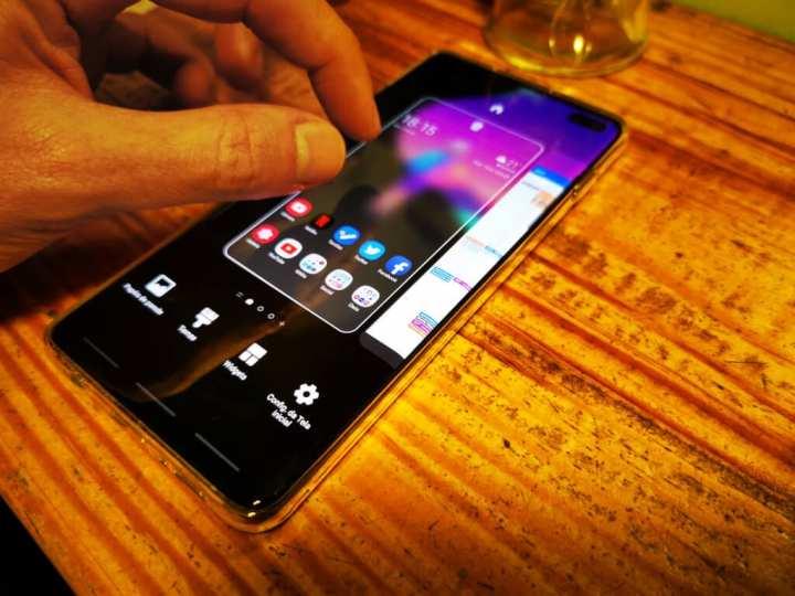 Personalizar tela inicial Galaxy S10