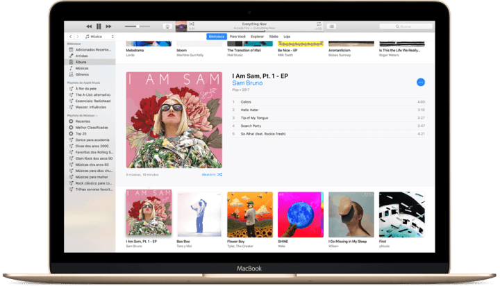 iTunes para macOS