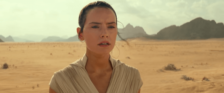 Rey abre o trailer de Star Wars: A Ascensão Skywalker