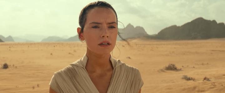 Rey abre o trailer de Star Wars: A Ascensão Skywalker